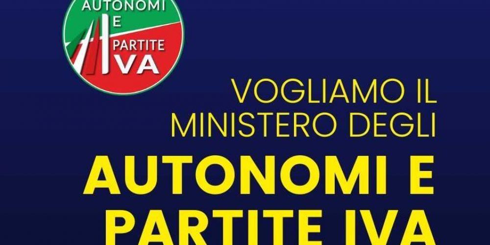 Vogliamo il Ministero degli Autonomi e Partite Iva